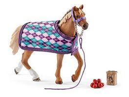 Schleich Horse Club Englisches Vollblut mit Decke