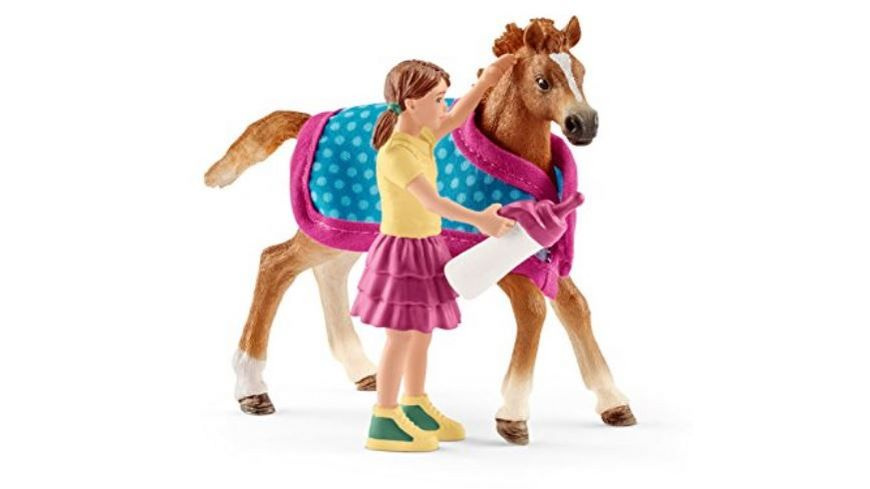 Schleich 42361 Horse Club Fohlen mit Decke