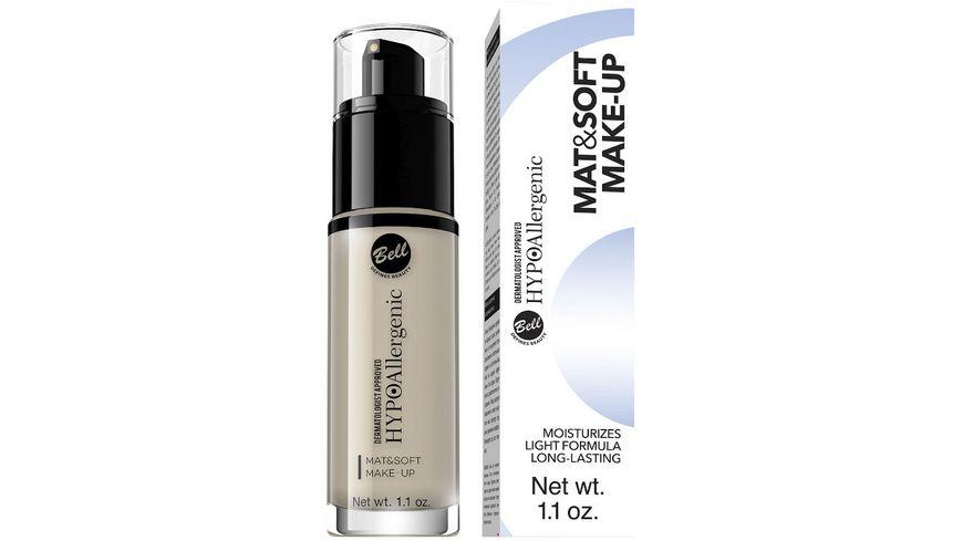 HYPOAllergenic Mat Soft Make Up