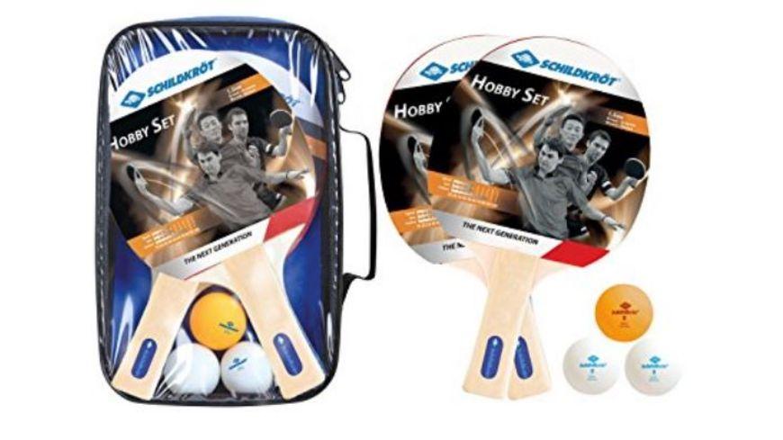 DONIC SCHILDKROeT Tischtennis Hobby Set fuer 2 Spieler