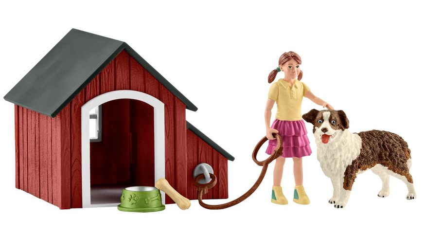Schleich 42376 - Farm World - Hundehütte