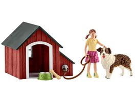 Schleich 42376 Farm World Hundehuette