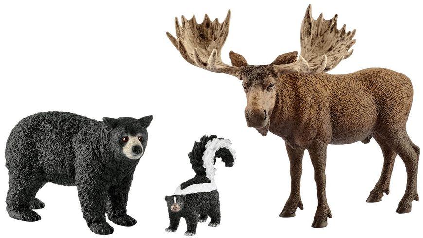 Schleich Wild Life Waldbewohner Nordamerikas