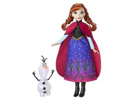 Hasbro Disney Die Eiskoenigin Zauber der Polarlichter Anna Olaf