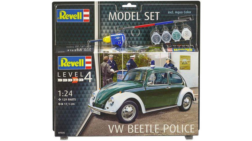 Revell 67035 Modell Set VW Beetle Polizei