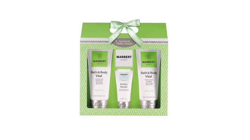 MARBERT Bath Body Vital Geschenkset