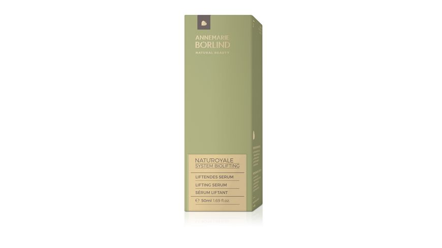 ANNEMARIE BOeRLIND NatuRoyale Liftendes Serum