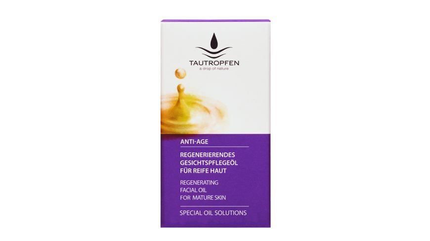 TAUTROPFEN Special Oil Solutions Regenerierendes Gesichtspflegeoel