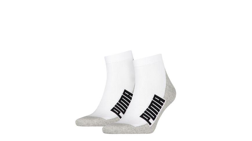 PUMA Quarter Cushioned Socken Unisex 2er Pack
