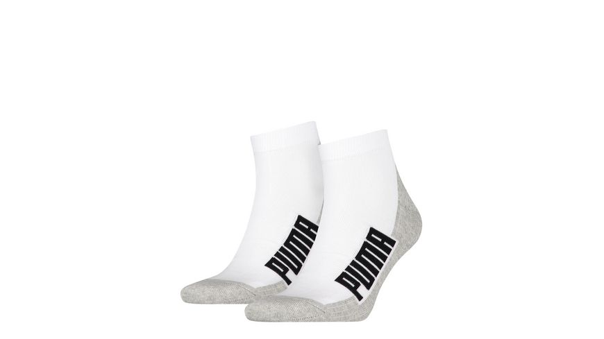 PUMA Quarter Cushioned Socken Unisex 2er Pack