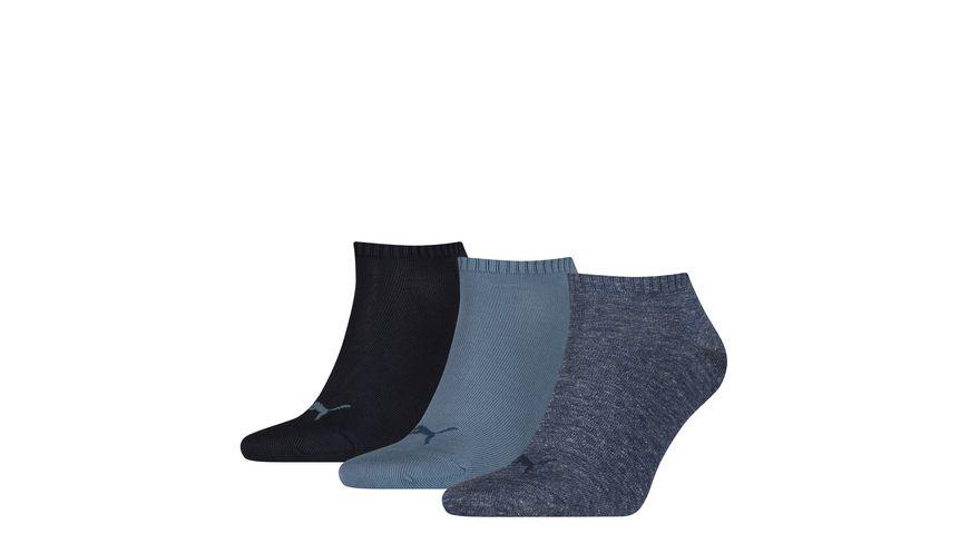 PUMA Unisex Sneaker Socken Invisible 3er Pack