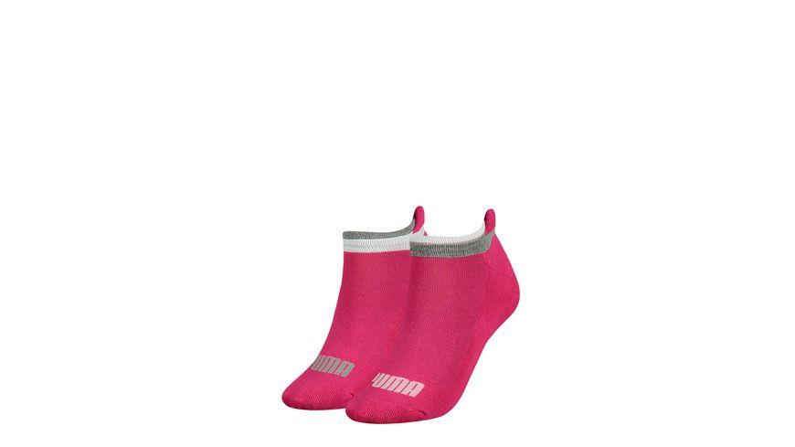 puma damen sneaker socken pink