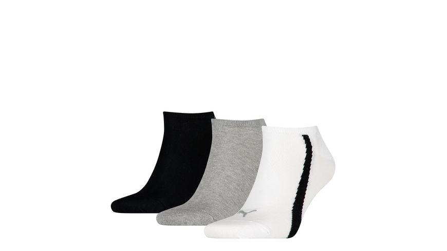 PUMA Unisex Sneaker Socken Lifestyle 3er Pack