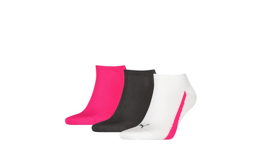 PUMA Sneakersocken Lifestyle Unisex 3er Pack