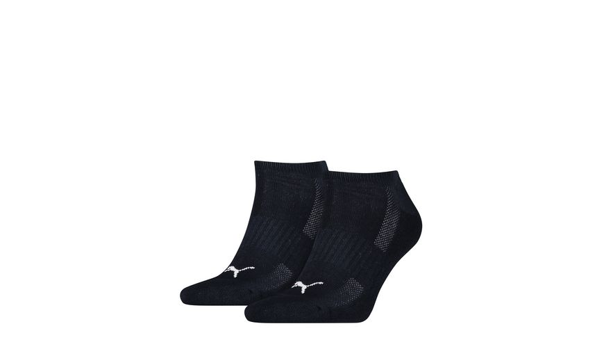 PUMA Unisex Sneaker Socken Cushioned 2er Pack