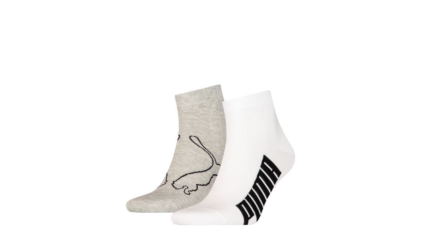PUMA Kurzsocken Lifestyle 2er Pack