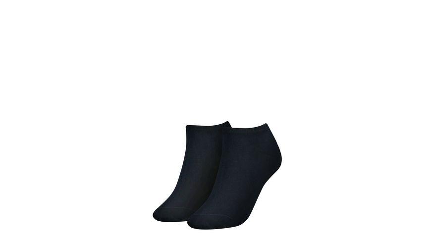 TOMMY HILFIGER Damen Sneaker Socken Flag 2er Pack