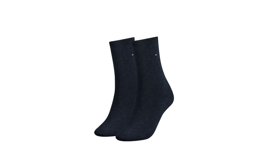 TOMMY HILFIGER Damensocken Casual 2er Pack