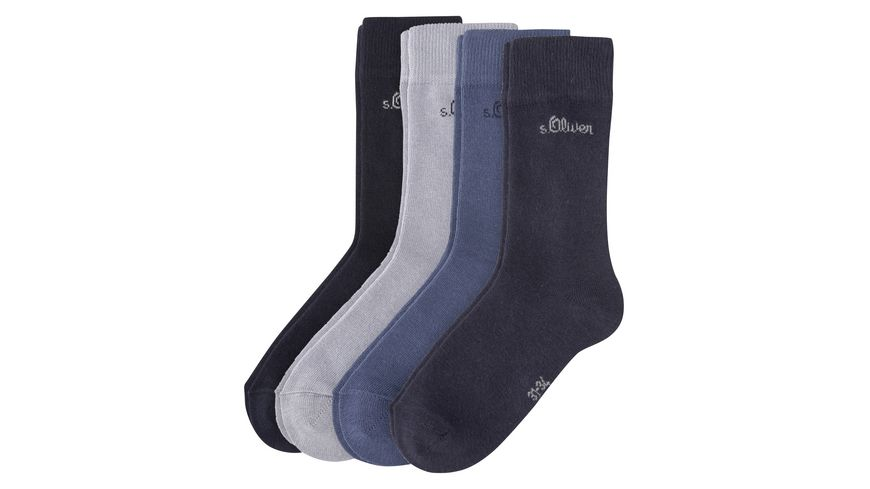 s Oliver Kinder Socken 4er Pack