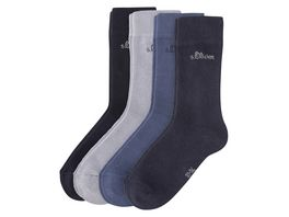 s Oliver Kindersocken 4er Pack