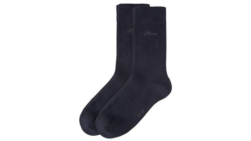 s.Oliver Herren Socken Classic 2er Pack