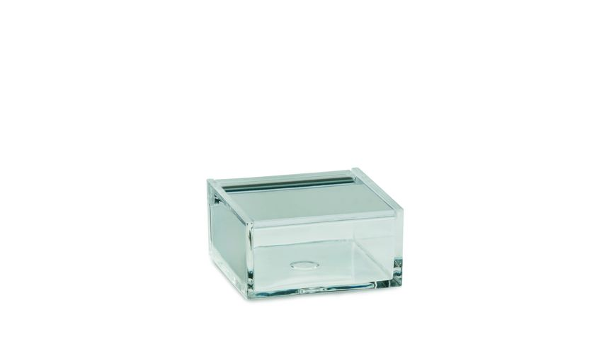 kela Utensilienbox Kristall 6x6x3 cm transparent