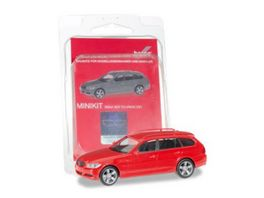 Herpa 012881 Minikit BMW 3er Touring E91 red