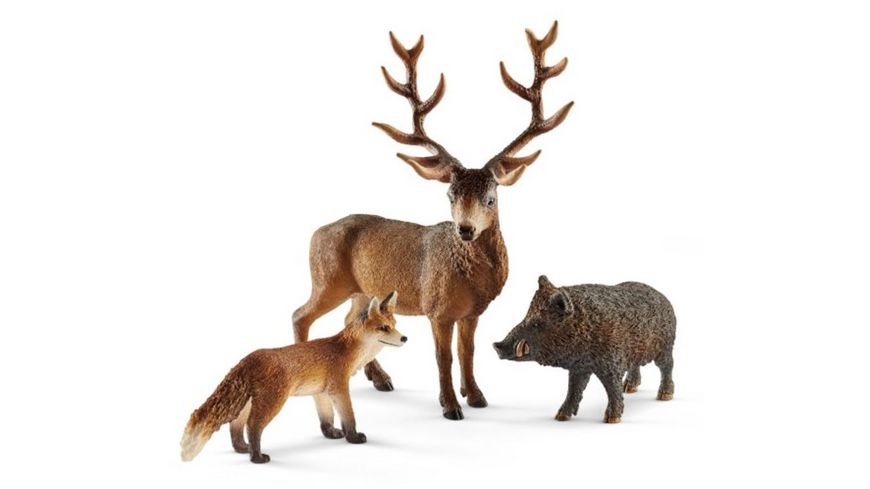Schleich Wild Life Waldbewohner Europas