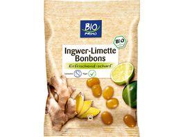 BIO PRIMO Bonbons Ingwer Limette
