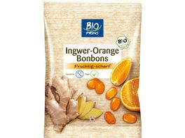 BIO PRIMO Bonbons Ingwer Orange