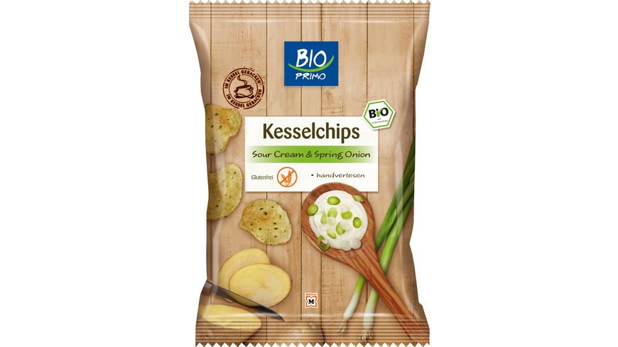 BIO PRIMO Kesselchips Sourcream Onion