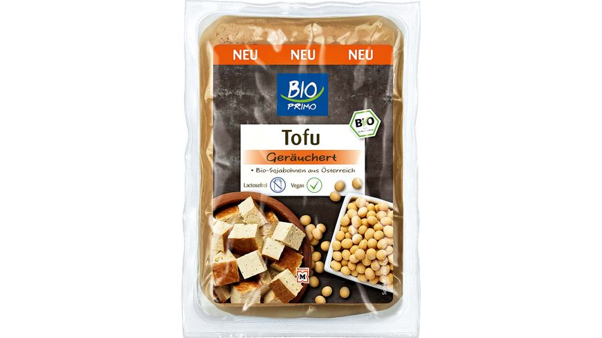 BIO PRIMO Tofu Geraeuchert