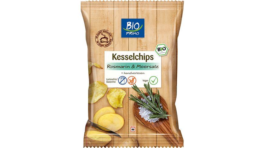 BIO PRIMO Kesselchips Rosmarin Meersalz