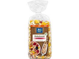 BIO PRIMO Dinkelmuesli mit Fruechten