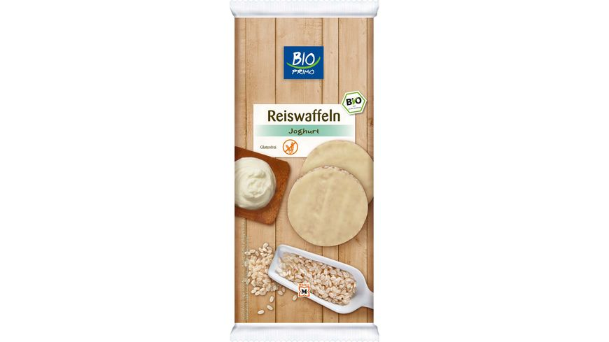 BIO PRIMO Reiswaffeln mit Joghurt