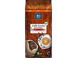 BIO PRIMO Fairtrade Cafe Crema ganze Bohne