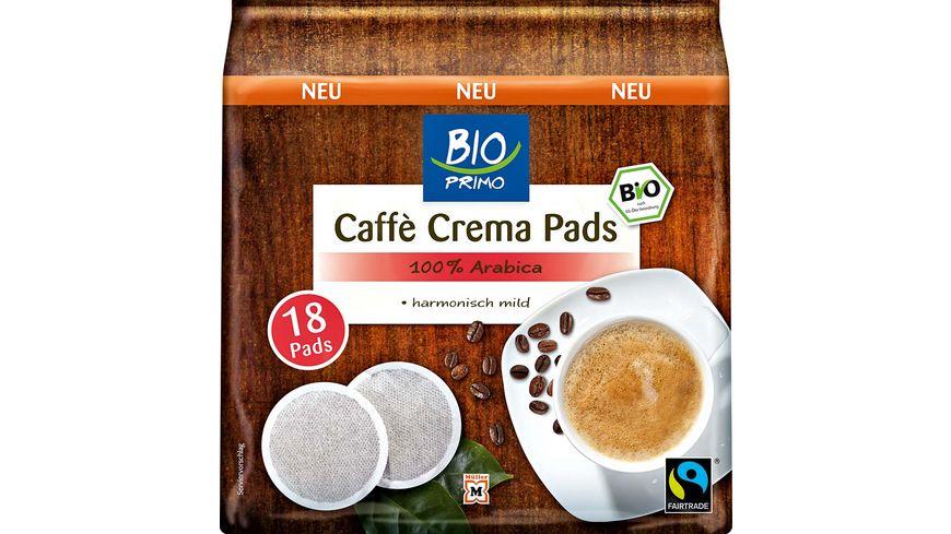 BIO PRIMO Fairtrade Kaffeepads 18 Stueck