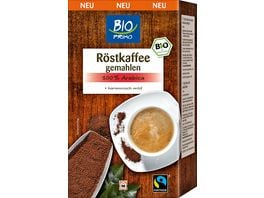 BIO PRIMO Fairtrade Roestkaffee Gemahlen