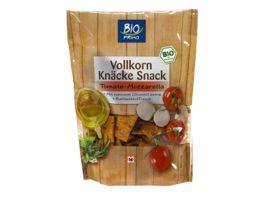 BIO PRIMO Vollkorn Knaecke Snack Tomate Mozzarella