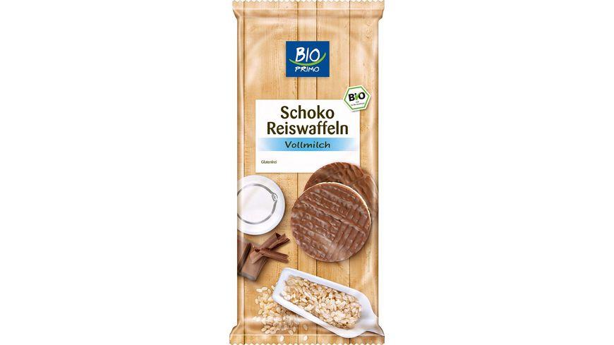 BIO PRIMO Schoko Reiswaffeln Vollmilch