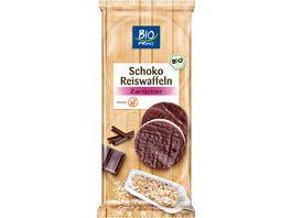 BIO PRIMO Schoko Reiswaffeln Zartbitter