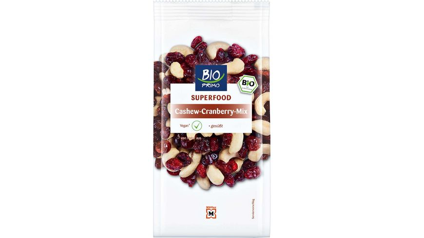 BIO PRIMO Superfood Cashew Cranberry Mix
