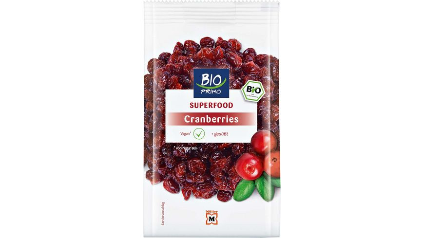 BIO PRIMO Superfood Cranberries