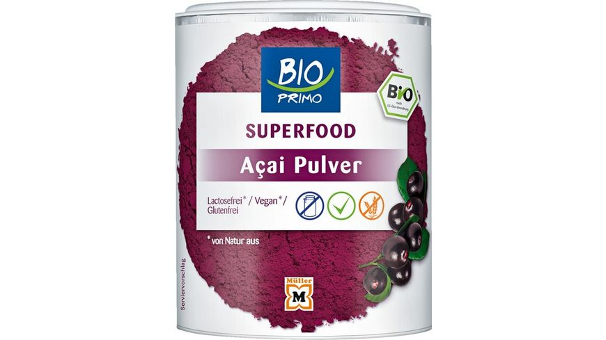BIO PRIMO Superfood Acai Pulver
