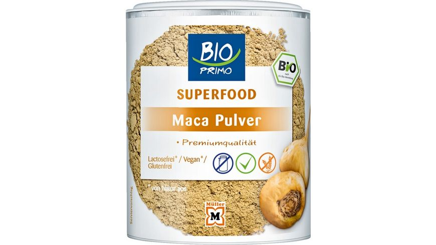 BIO PRIMO Superfood Maca Pulver
