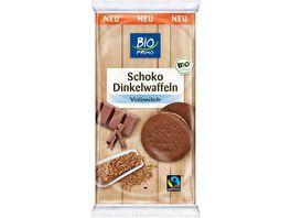 BIO PRIMO Fairtrade Dinkelwaffeln Schoko Vollmilch