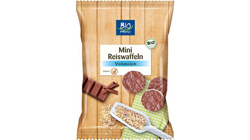 BIO PRIMO Mini Reiswaffeln Vollmilch