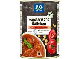 BIO PRIMO Vegetarische Baellchen in Tomatensauce