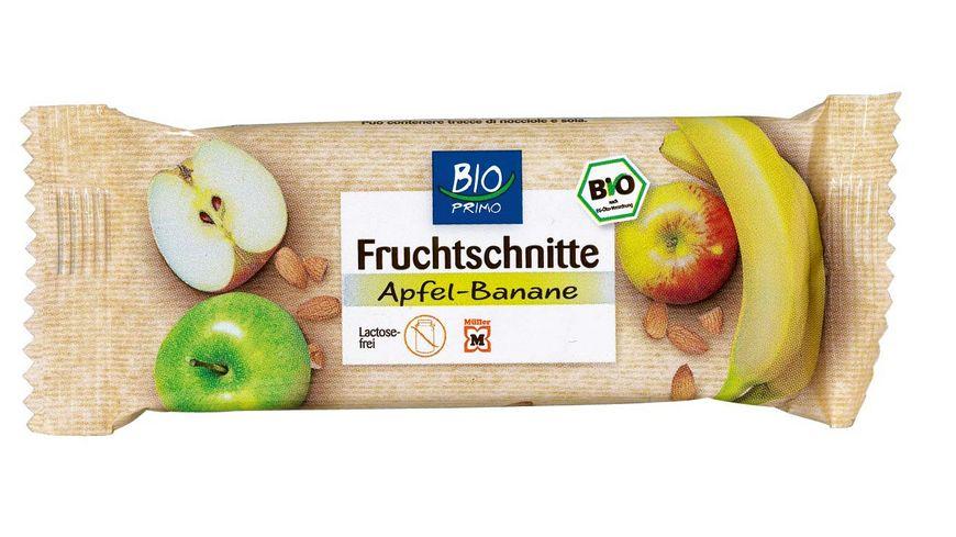 BIO PRIMO Fruchtschnitte Apfel Banane