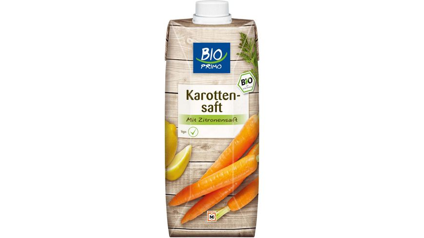 BIO PRIMO Karottensaft Tetra